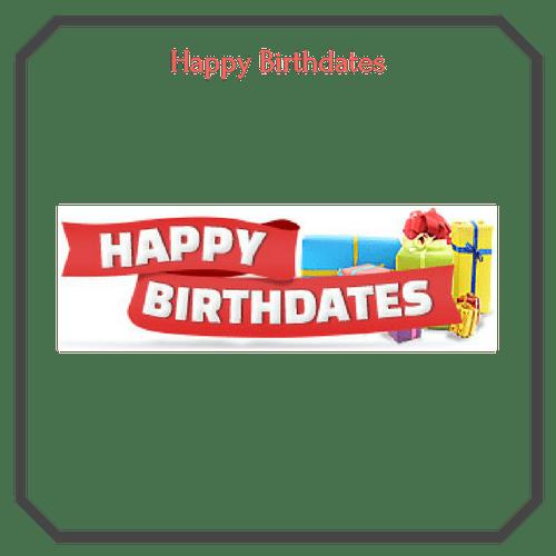 Happy Birthdates Logo