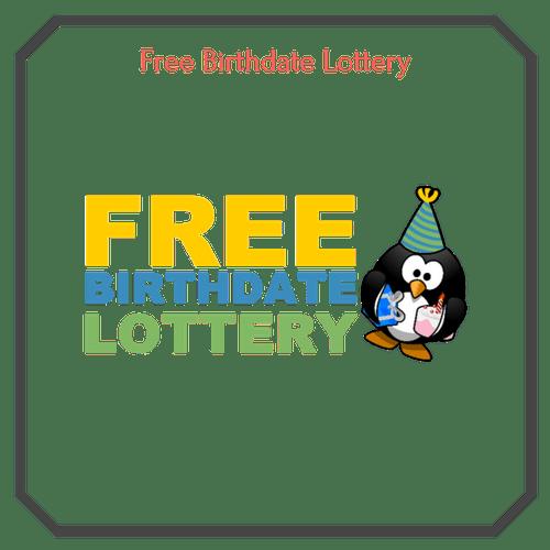 Free Birthdate Lottery Logo