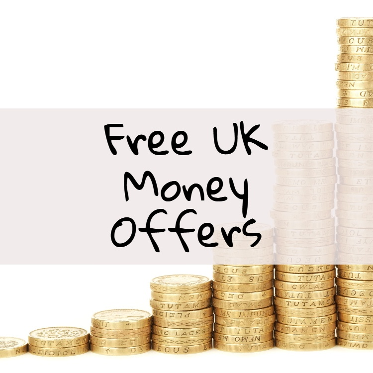 free uk money offers, featured image, stacked pound coins as background