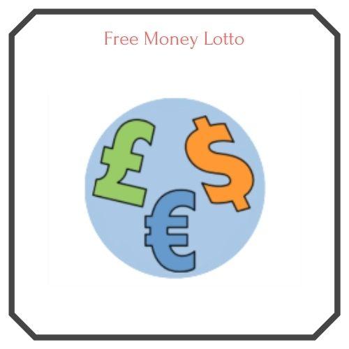 free money lotto logo